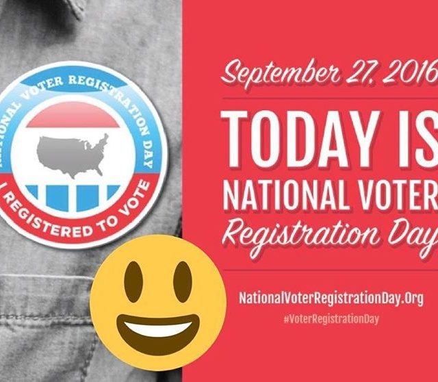 Today is NationalVoterRegistrationDay The nyulyp will be at Validus Prepatoryhellip