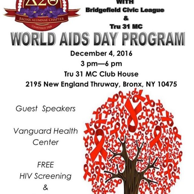 Today is the day! Come out to our WorldAIDSDay eventhellip