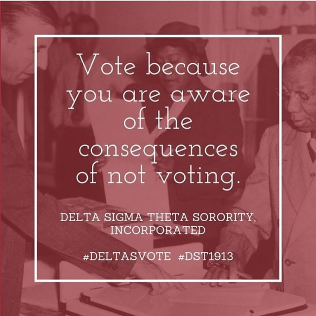 Vote because you are aware of the consequences of nothellip