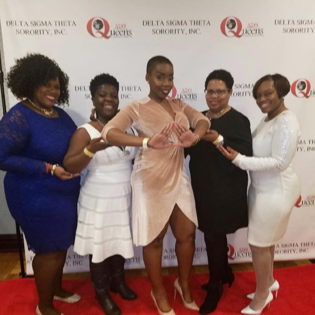 BXACDST members at the annual DSTQUAC Soiree DST1913 DST104 deltasigmatheta