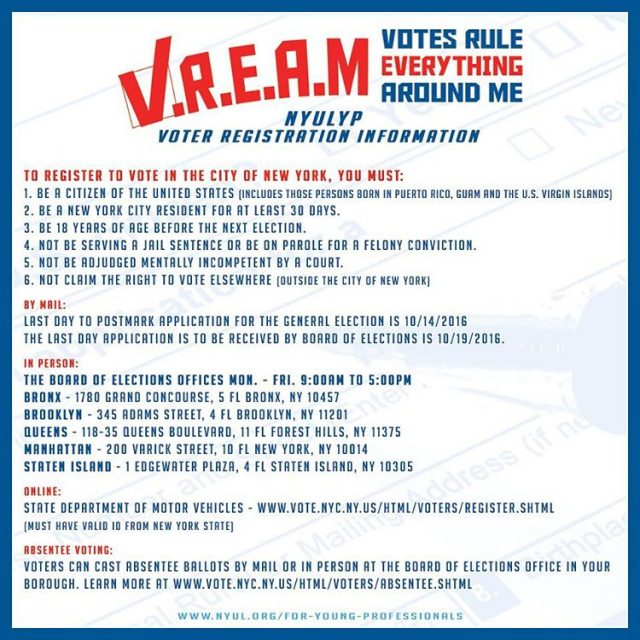 And heres more on voter registration information The New Yorkhellip