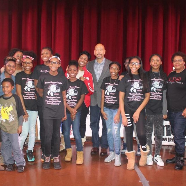Our Dr Betty Shabazz DeltaAcademy youth program with Bronx Boroughhellip